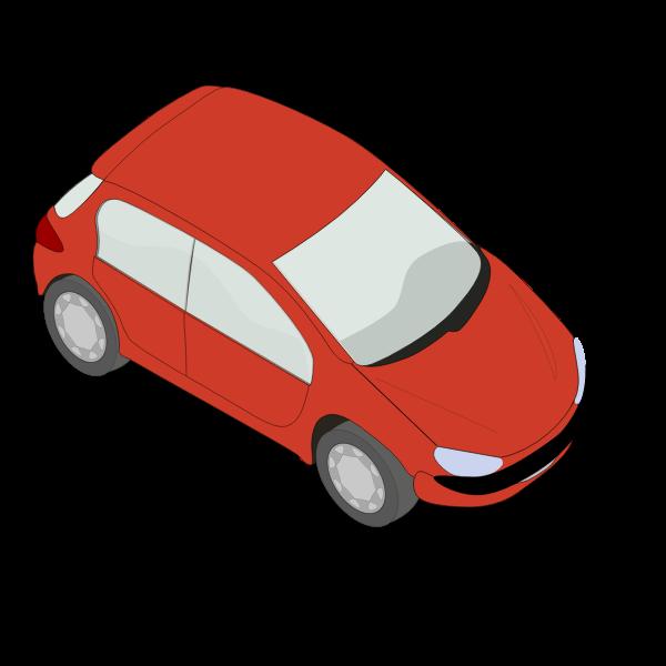 Peugeot 206 car vector
