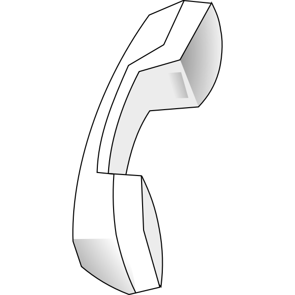 Vector graphics of old-fashioned telephone