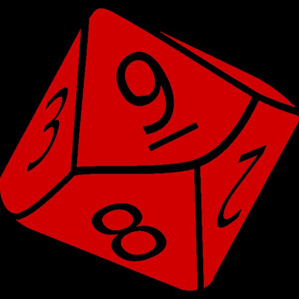 Ten-sided dice
