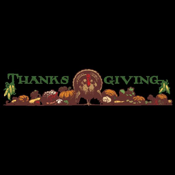 thanksgiving header color
