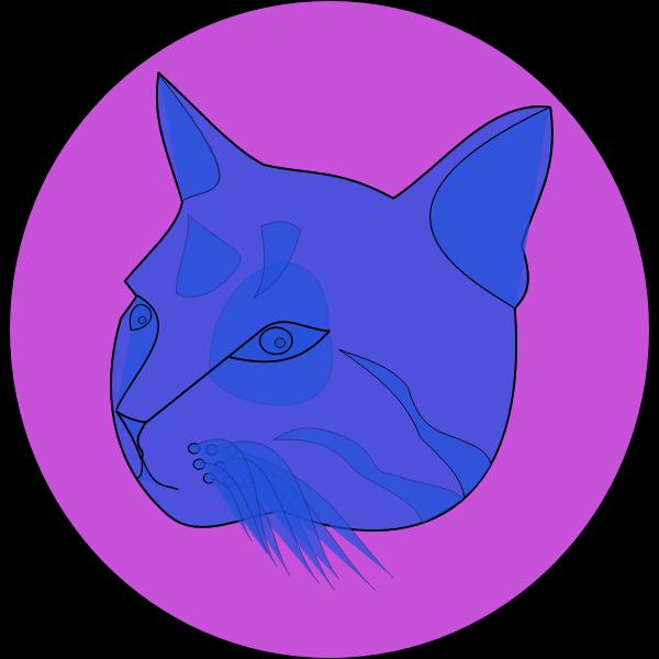 themanwithoutsex blue cat