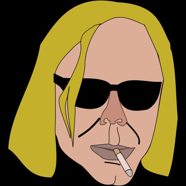 themanwithoutsex smoking man