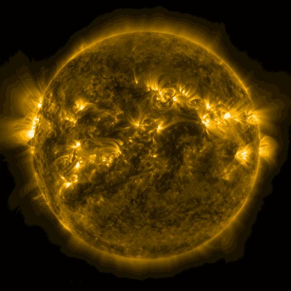 The sun by NASA