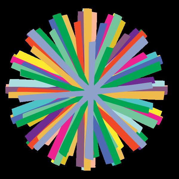 tikigiki abstract starburst 002