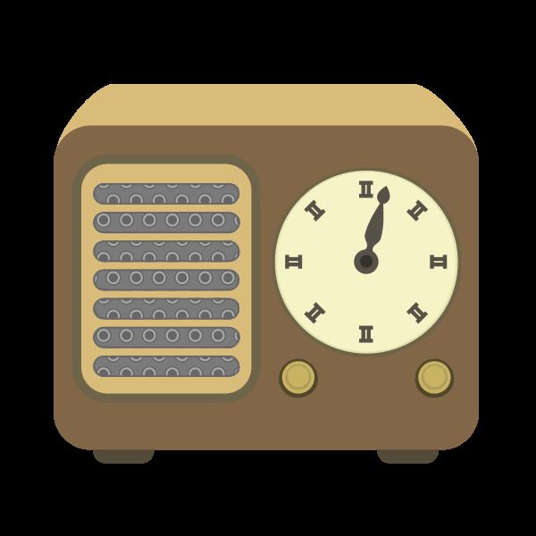 Simple radio vector image
