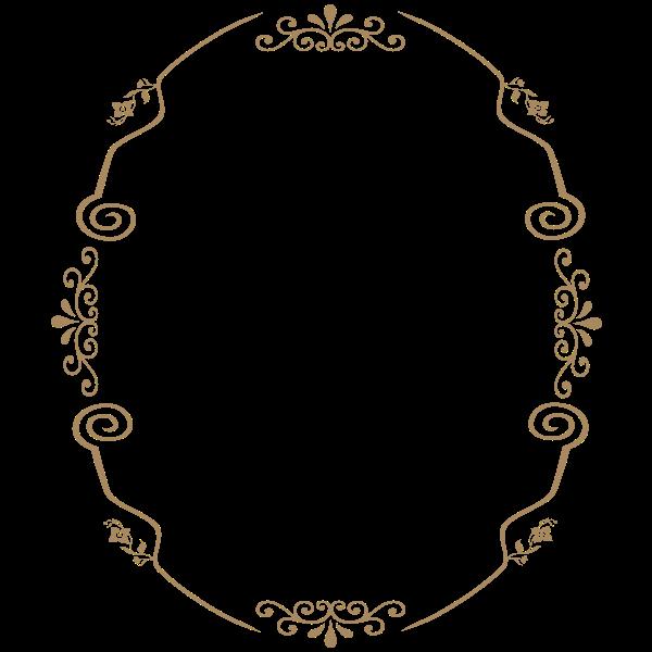 Vintage style frame