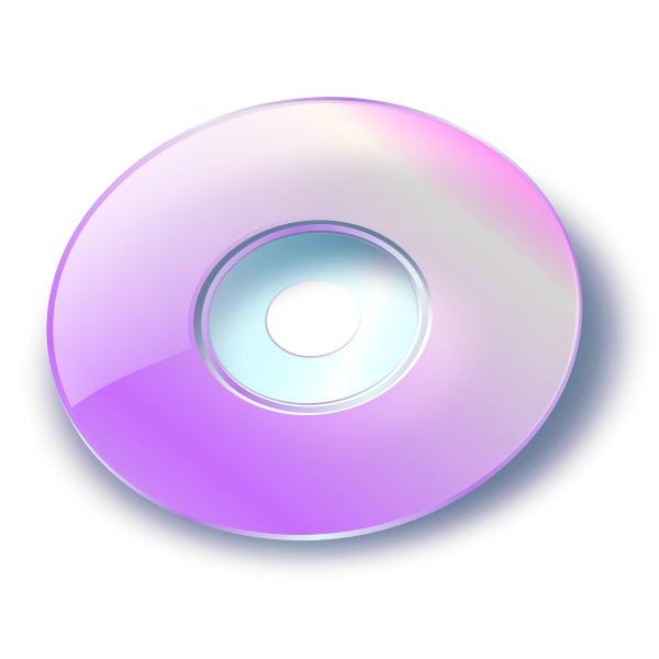 Vector graphics of CD