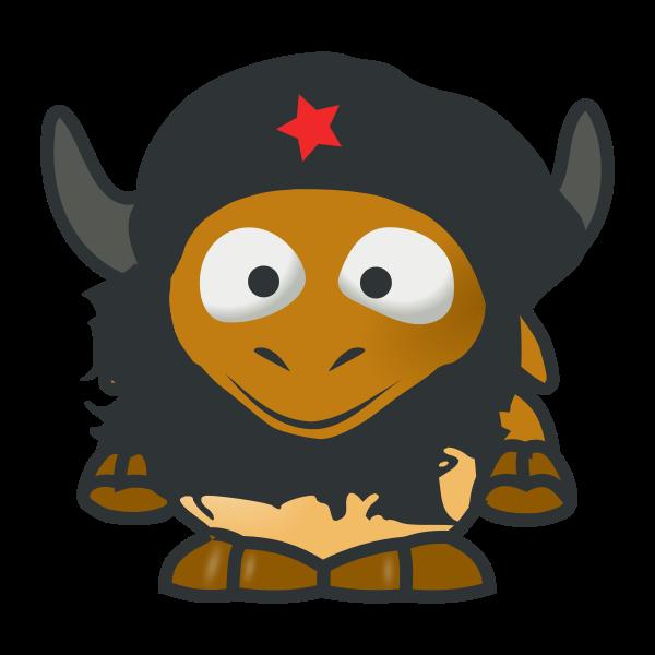 baby GNU Che