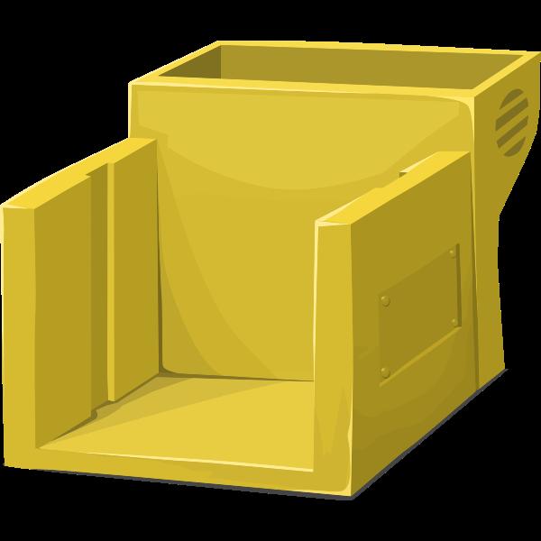 Yellow machine image