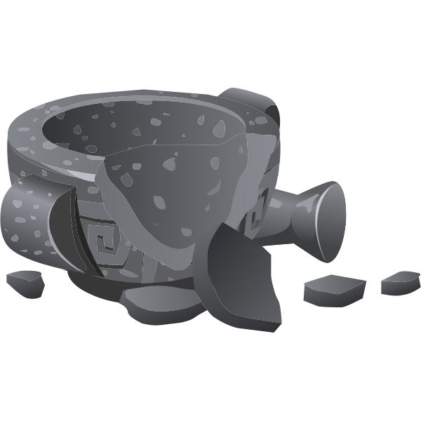 Broken grinder