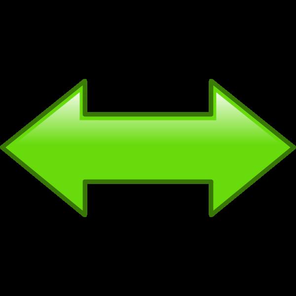 Arrow left right vector clip art