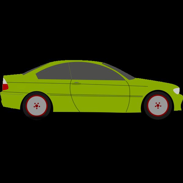 A Family Car Vector