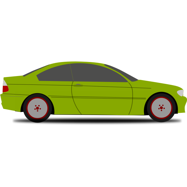 A Family Car Vector
