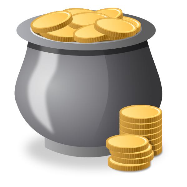 Money Pot Vector