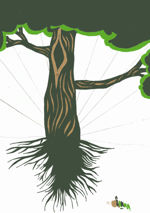 tree from sketch