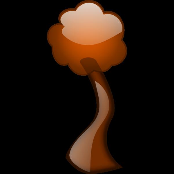 Autumn tree branch vector
