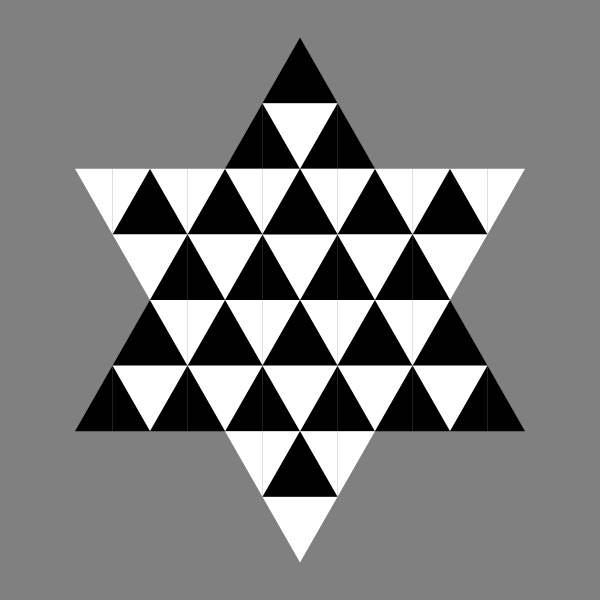 Triangle Hexagram