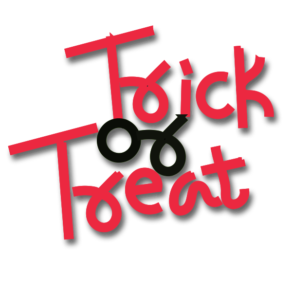 Trick or treat vector icon
