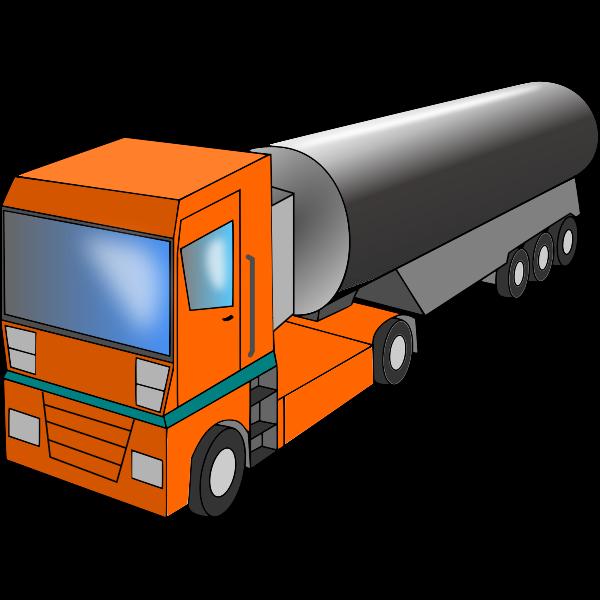 Truck Cistern Vector