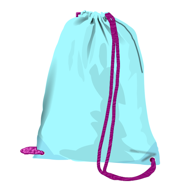 Vector image of sport bag