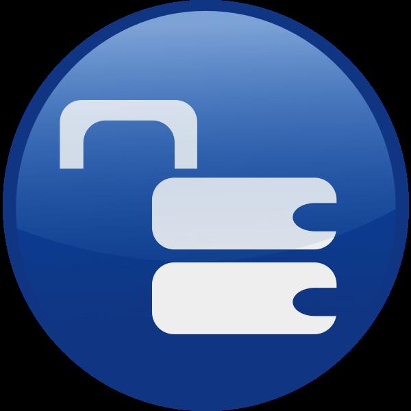 Unlocked vector icon image