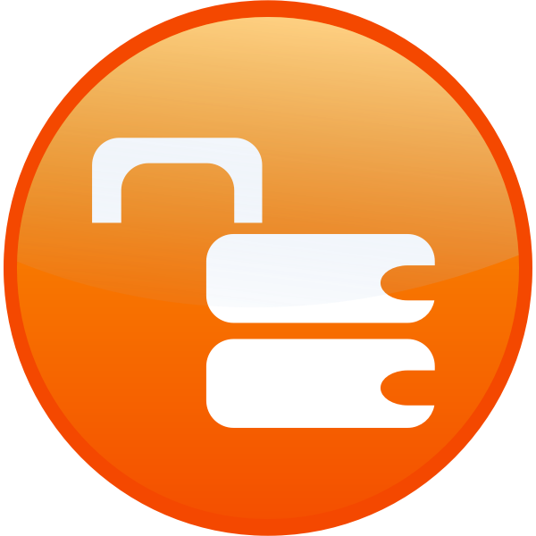 Unsecure lock vector image