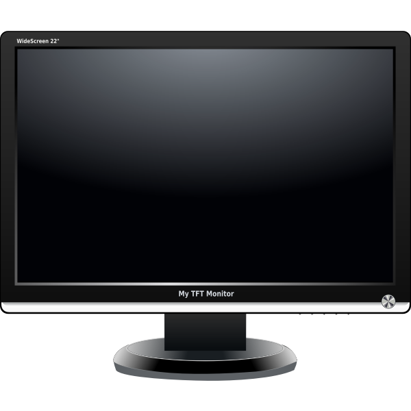 My TFT Monitor (Widescreen)