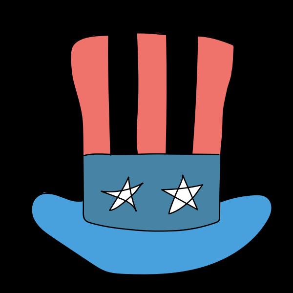 USA hat full prepared
