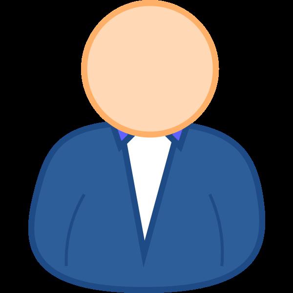 User 3 avatar vector clip art