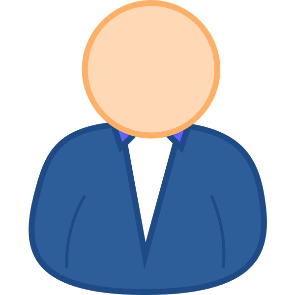 User 3 avatar vector clip art