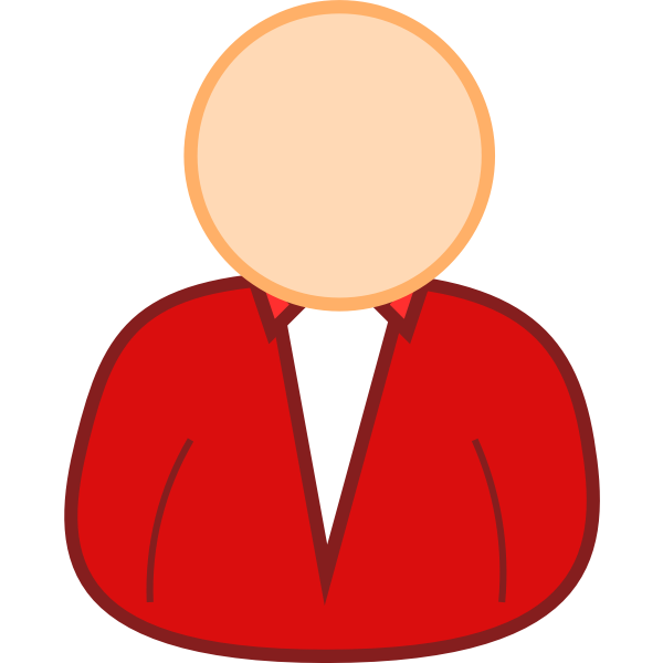 User avatar vector clip art
