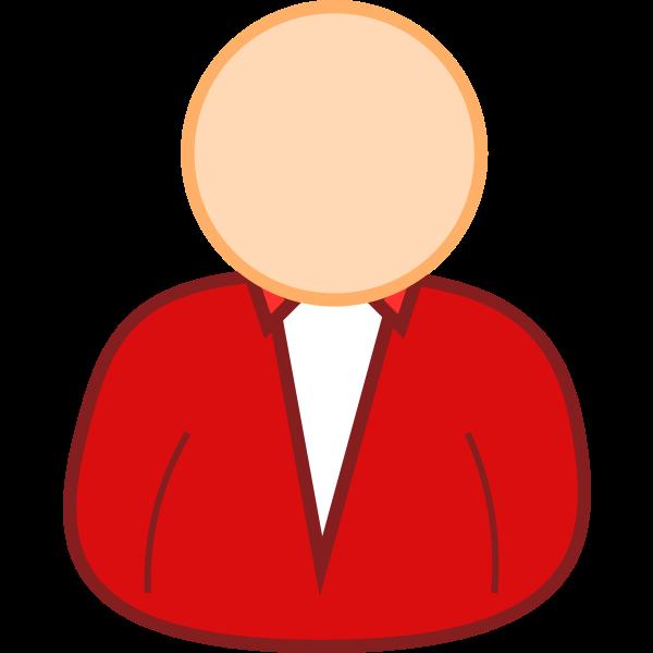 User avatar vector clip art