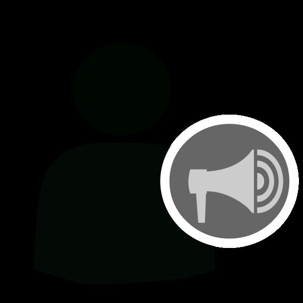 User alert icon