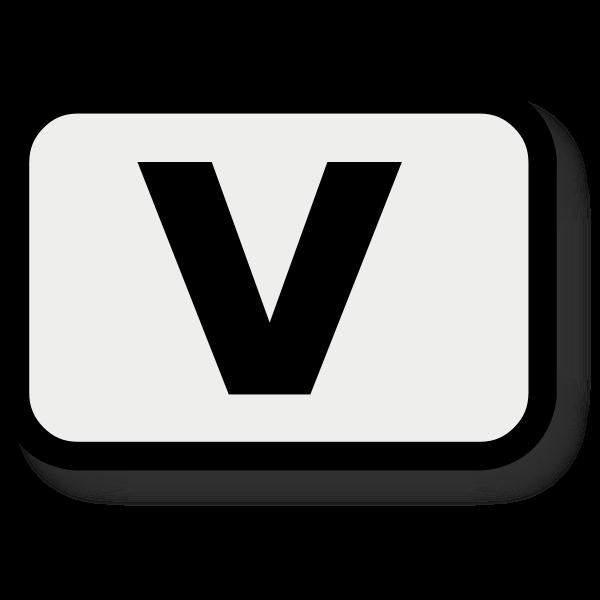 Letter V