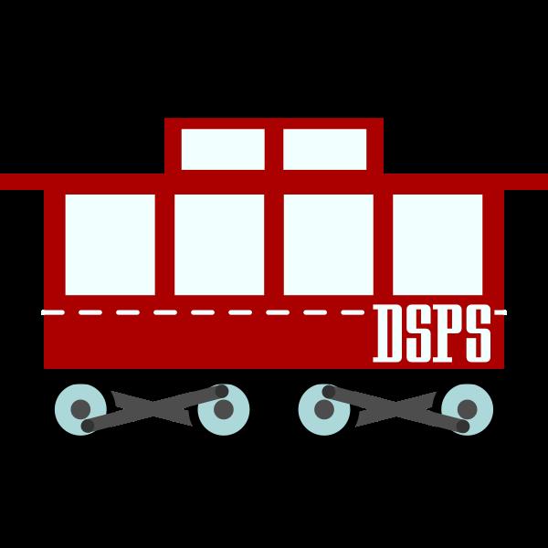 Train wagon vector graphics