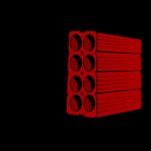Red Brick vector