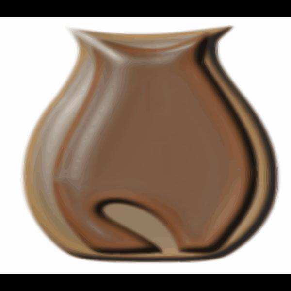 vase with cat image