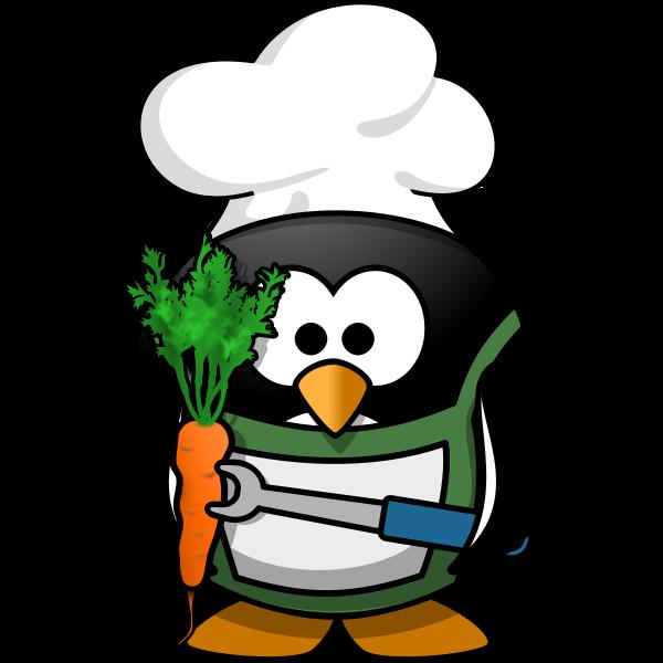 Penguin chef