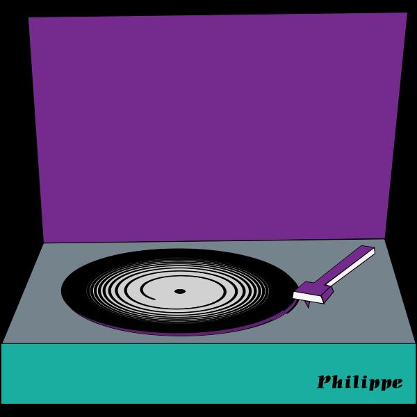 vinyl disc philippe coli 01
