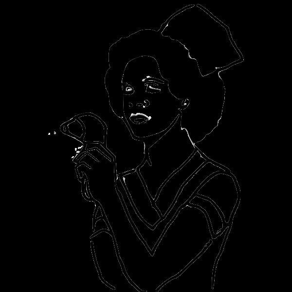 Vector illustration of medical nurse