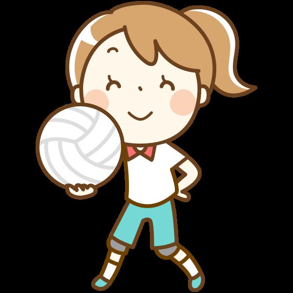volleyball girl 04