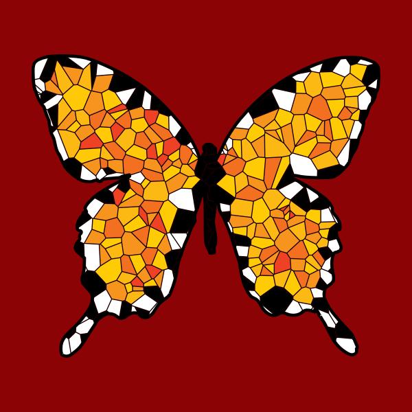 Voronoi Butterfly