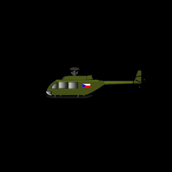 Helicopter vector art