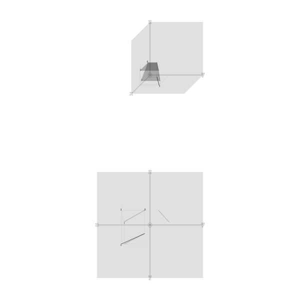 True Length of a Line by Rotating its Projection\n