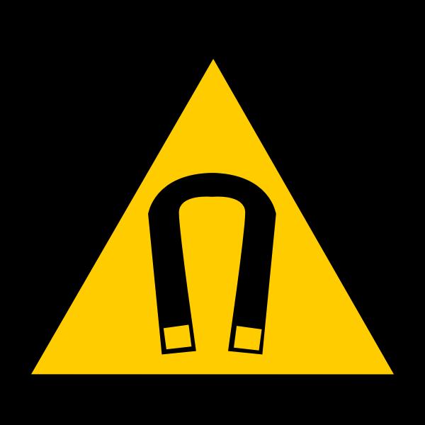 magnetic warning