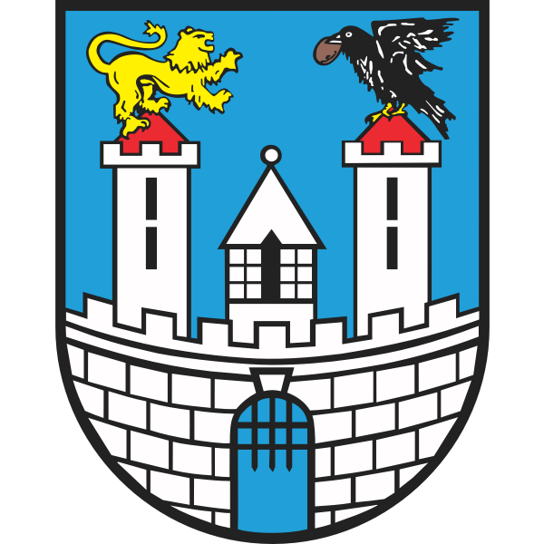 Vector illustration of coat of arms of Czestochowa City