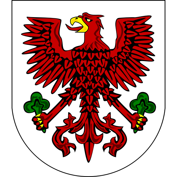 Vector image of coat of arms of Gorzow Wilekopolski
