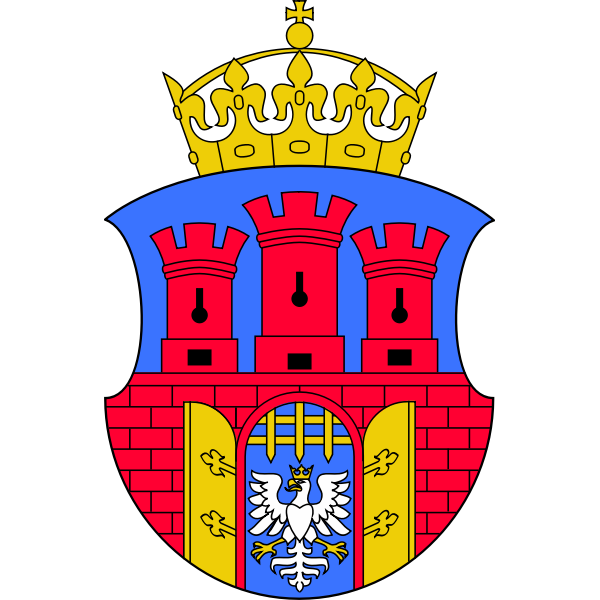 Vector clip art of coat of arms of Krakow City