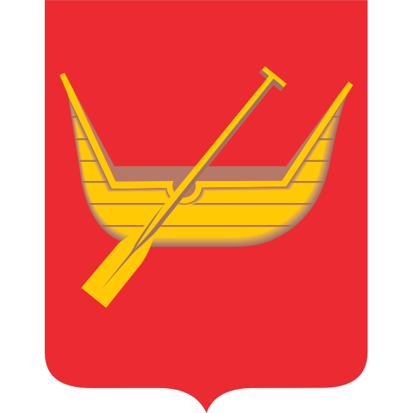 Vector illustration of coat of arms of Lodz City