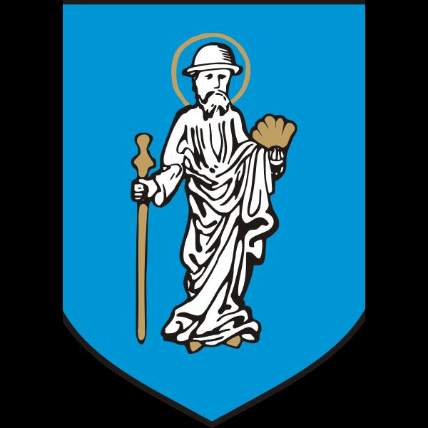 Vector image of coat of arms of Olsztyn City
